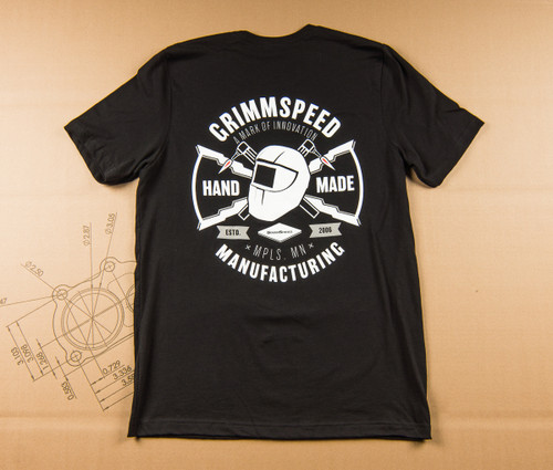 "GrimmSpeed MFG ""Hand-Made"" T-Shirt Fitted - Black"