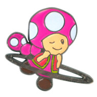 Super Hoopers Toadette Hat Pin
