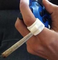 Video Gamer Joint Holding Ring