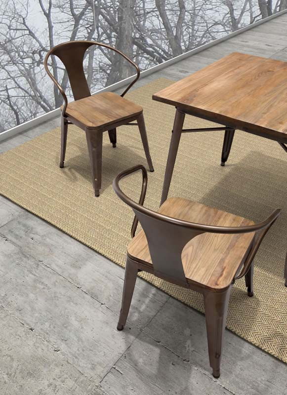 Rustic Dining Chairs Vintage Dining Room Decorating Ideas