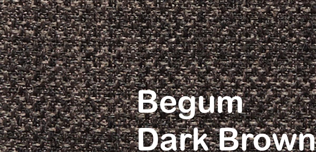 begum dark brown 503