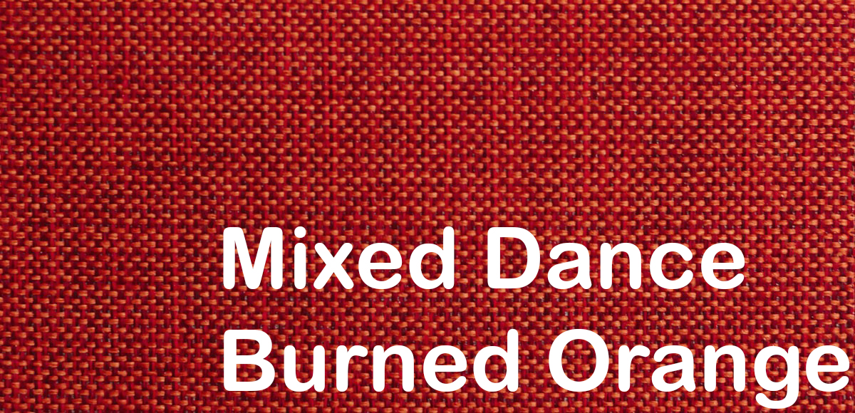 mixed dance burned orange 524