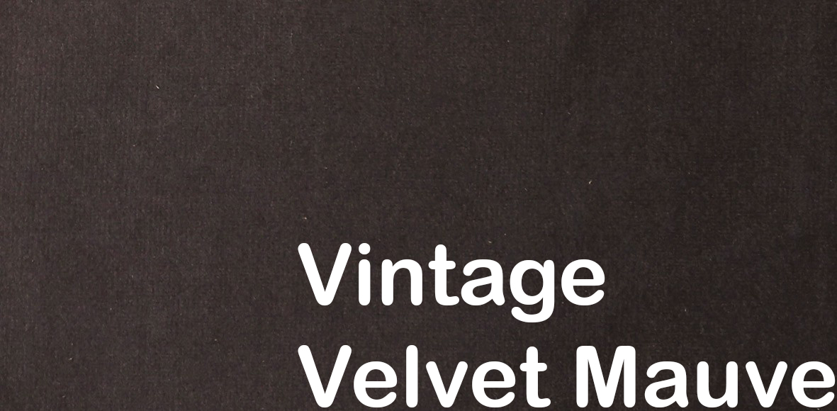 Innovative Vintage Velvet Mauve