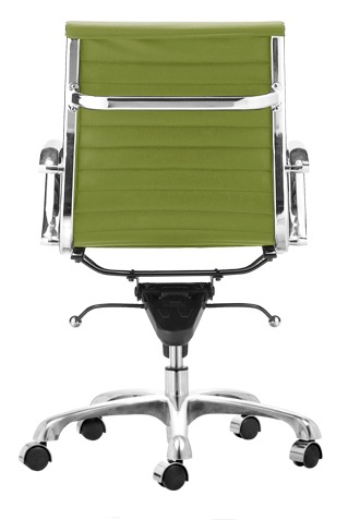 ag management chair in light green - office chairs