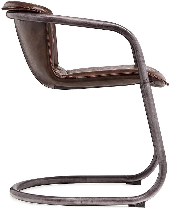 antonio cognac chair 1