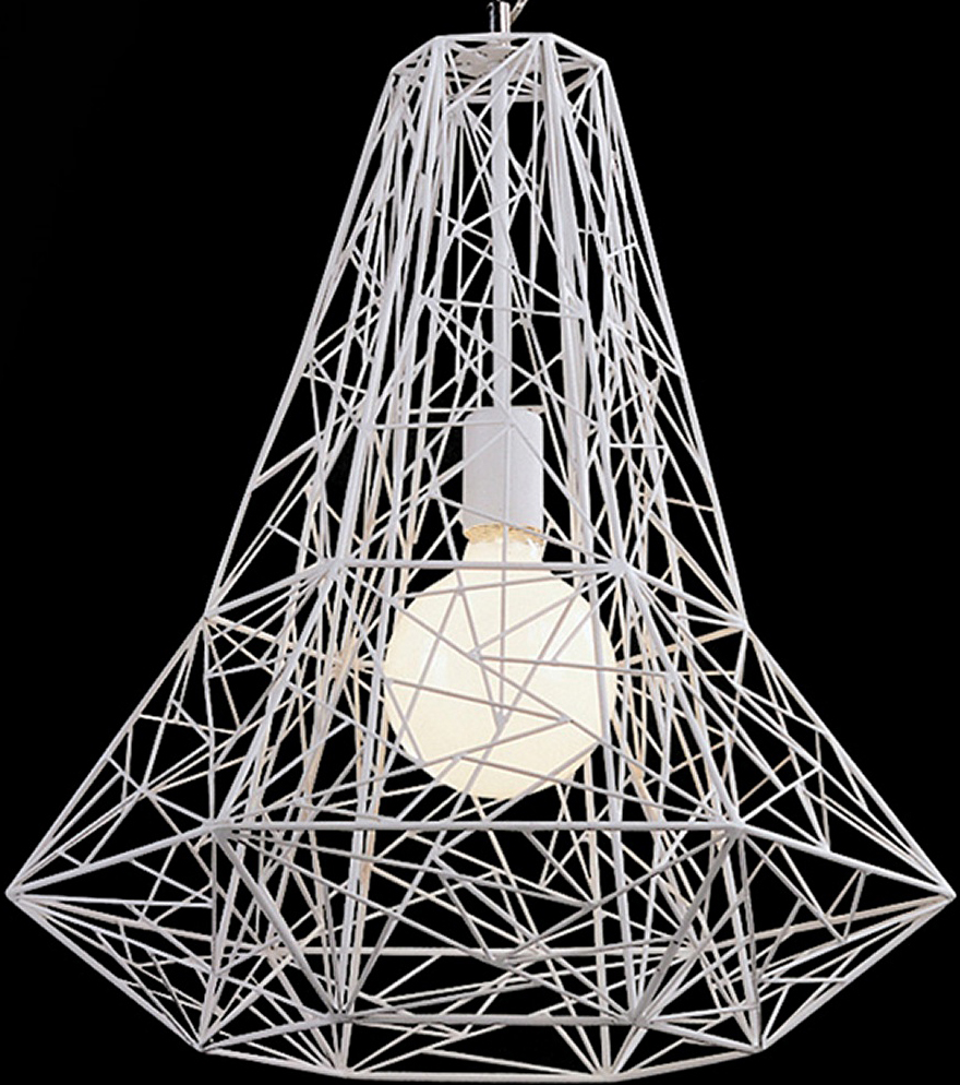 the apollo pendant lamp in white