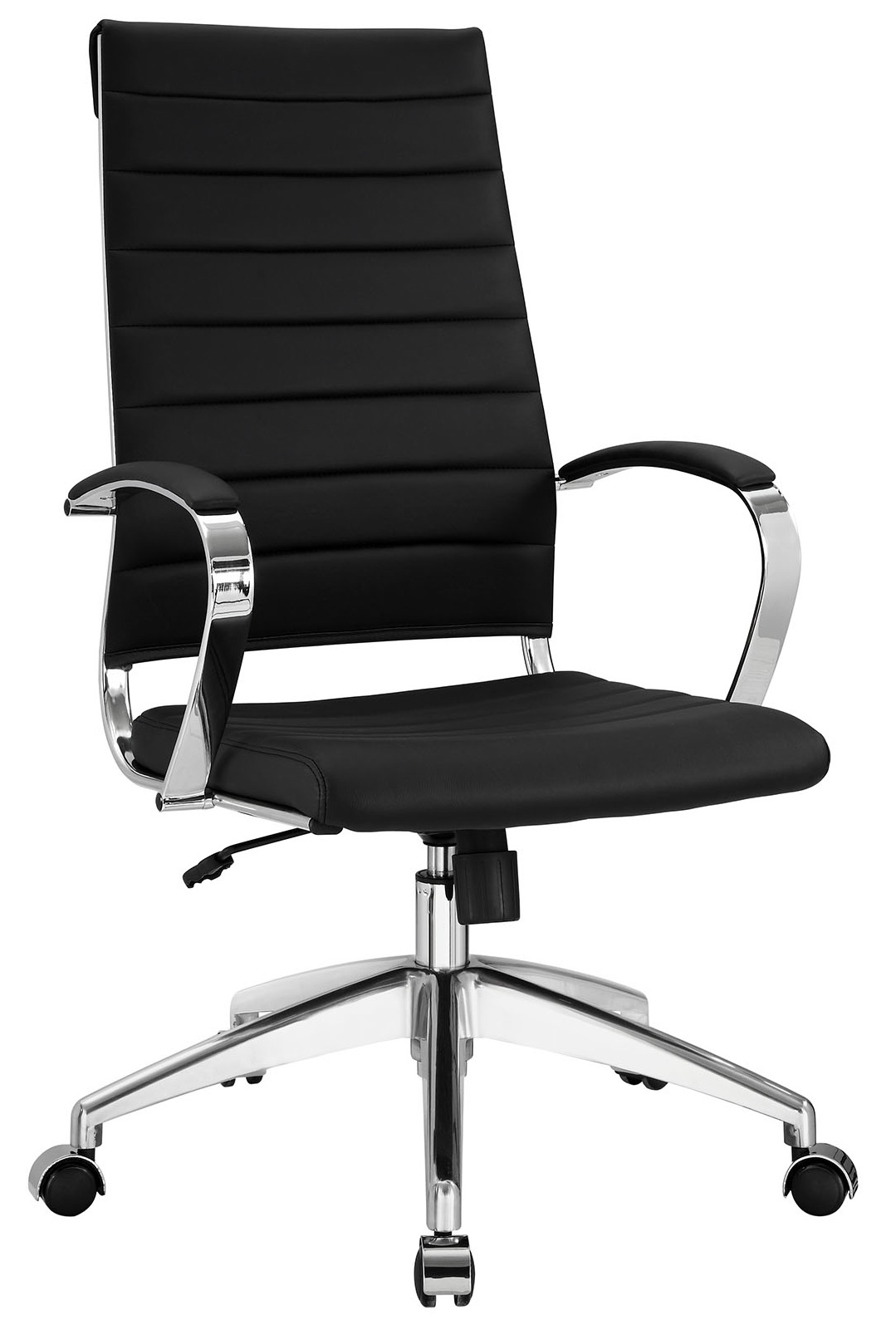 Black and white office chair -  Aria Hb Office Chair Black Jpg