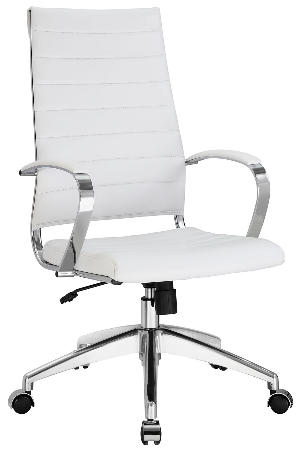 Black and white office chair - Aria Hb Office Chair White Jpg