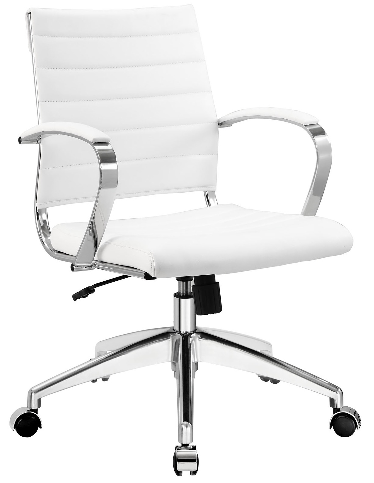 Beau Office Chair White Leather. Interesting Office Ariaofficechairwhitejpg In Office  Chair White Leather