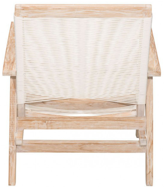 the back view of the west port armchair