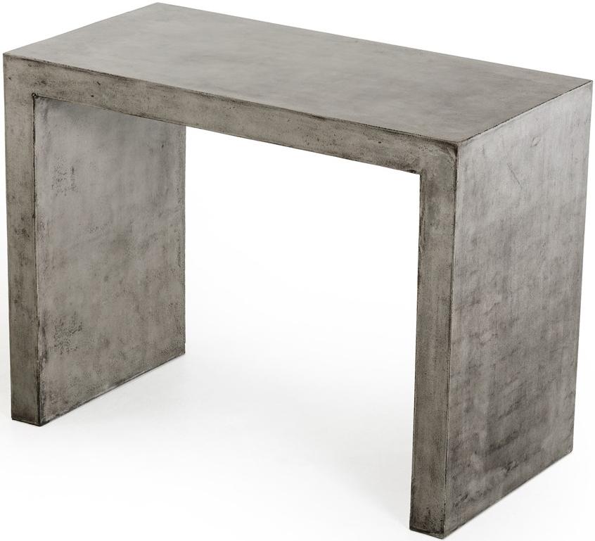 Frantz Concrete Bar Table Cement Table Top Industrial