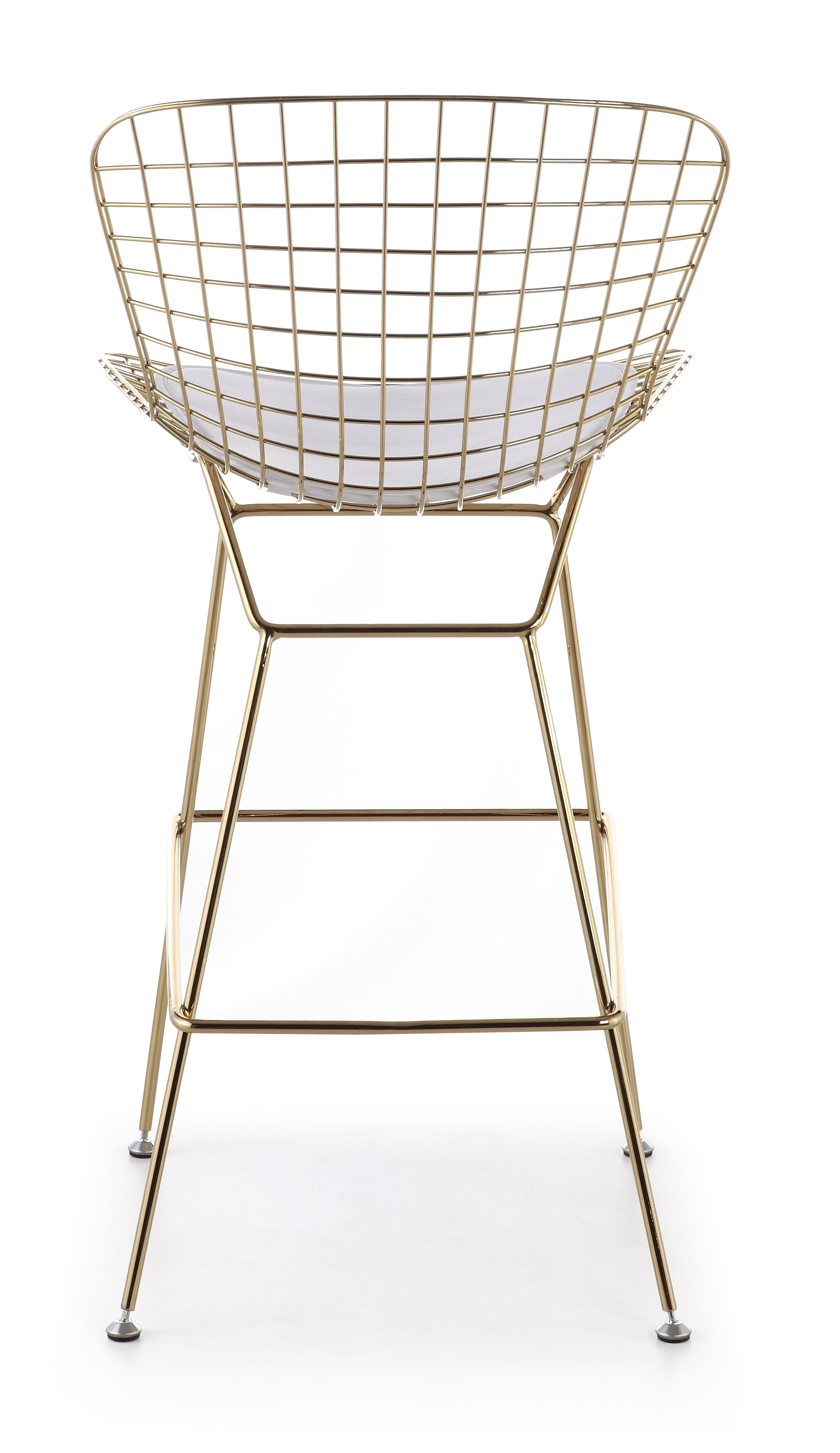 bertoiabarstoolgold. bertoia bar stool in gold  advancedinteriordesignscom
