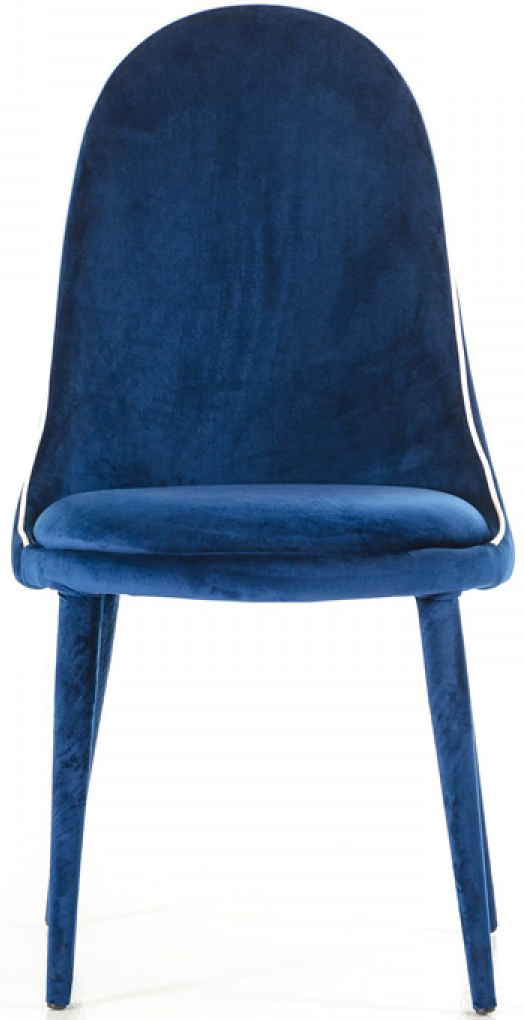 Zephyr Blue Velvet Dining Chairs Blue Modern Dining Chairs