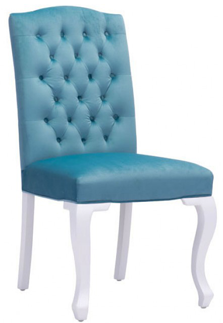 new zuo bourbon dining chair polar blue available at advancedinteriordesigns.com