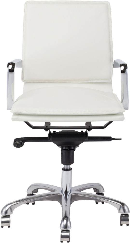 the carlo office chair in white