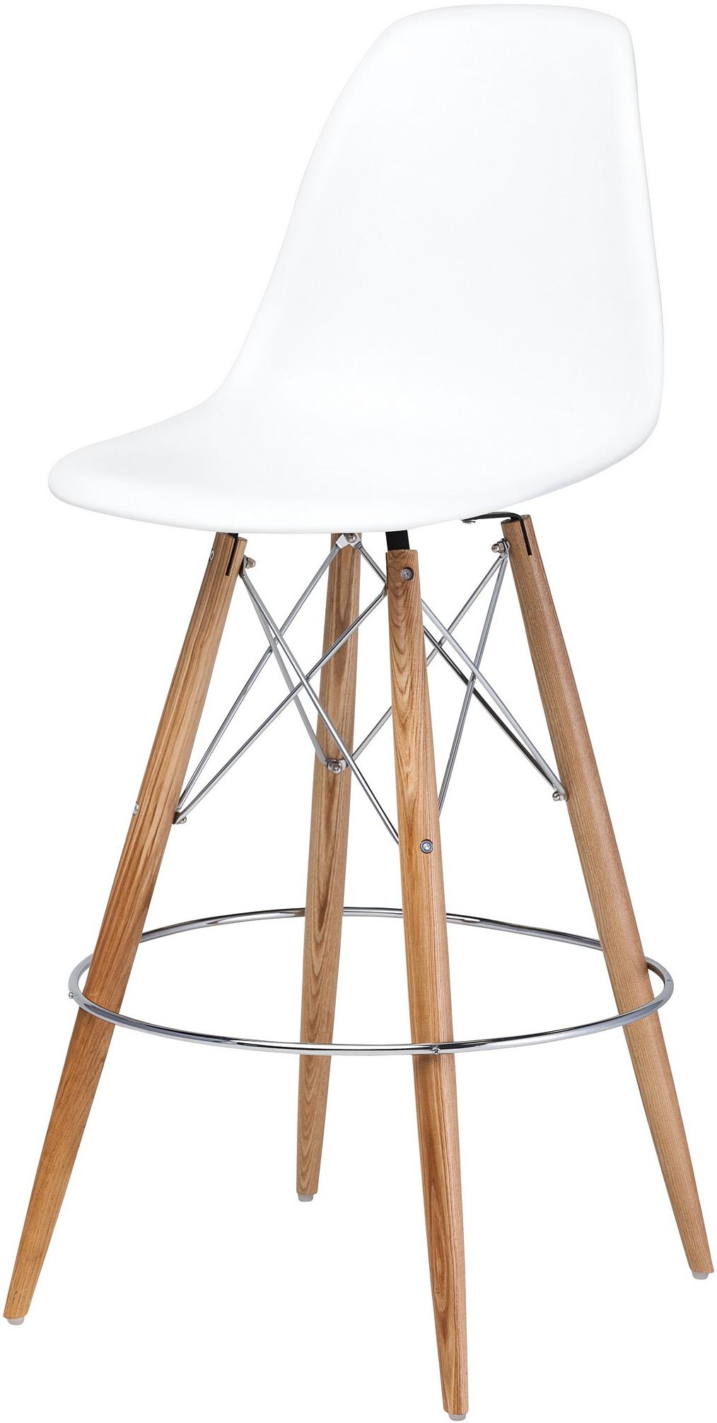 charlotte bar stool white