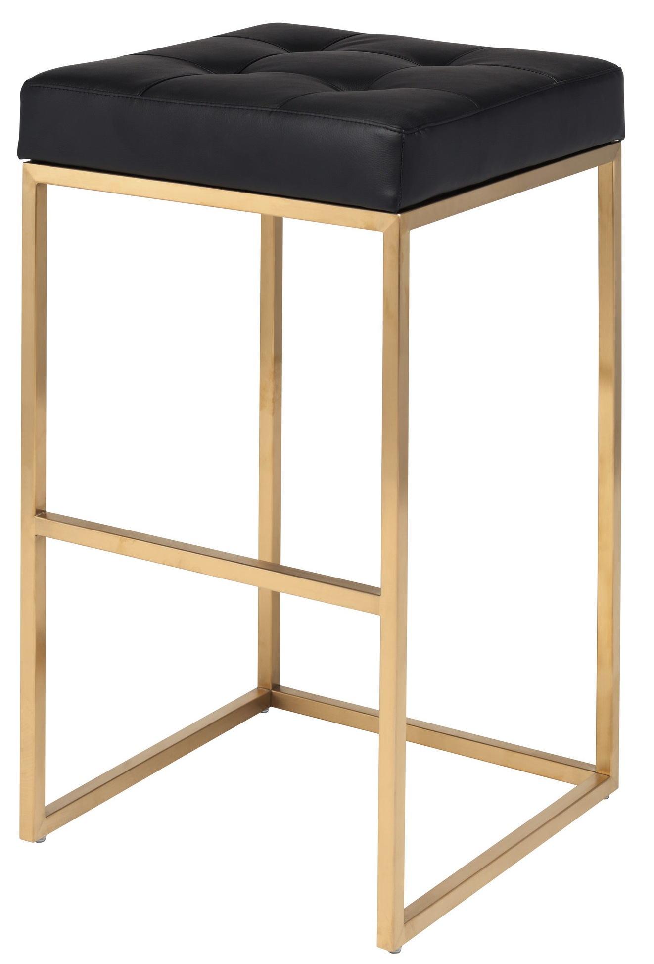chibarstoolblackwithgoldfinish . nuevo gold chi bar stool  advancedinteriordesignscom