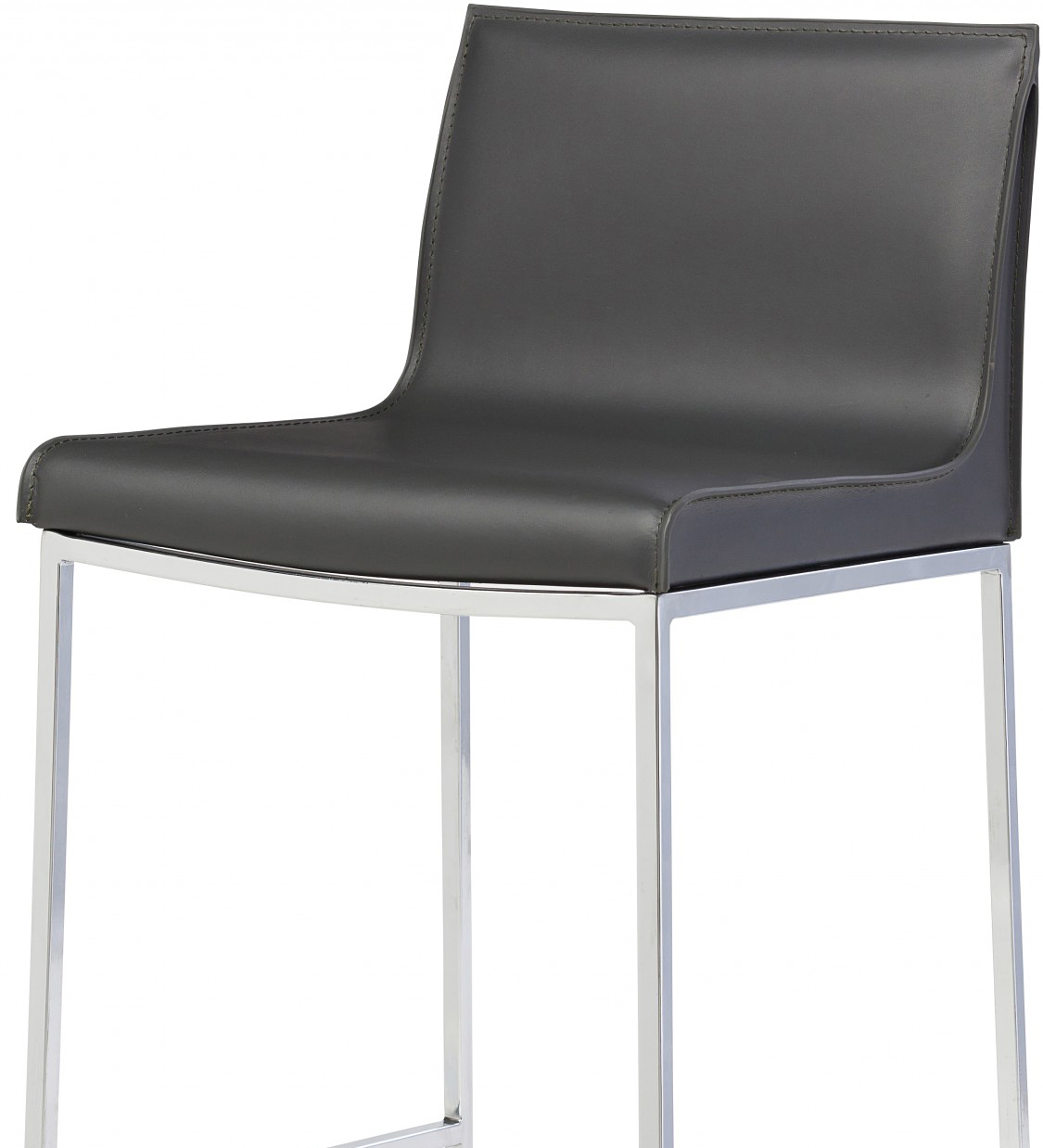 the colter bar stool dark grey