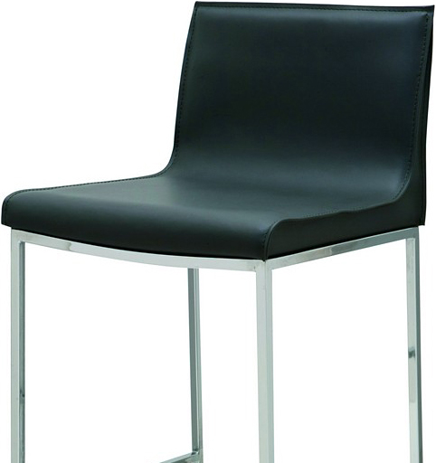 the nuevo living colter bar stool black