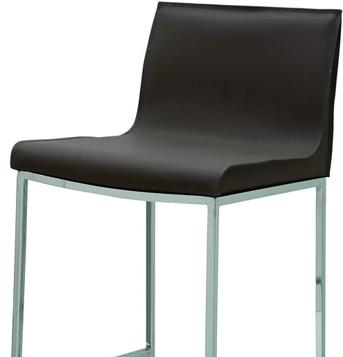 the nuevo living colter bar stool in mink