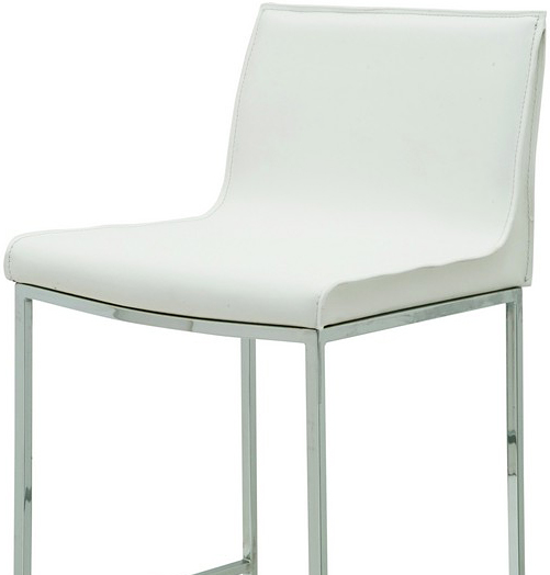 the nuevo living colter bar stool white