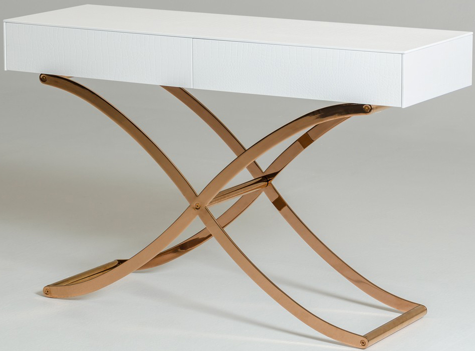 we've got a brand new console white table available at AdvancedInteriorDesigns.com