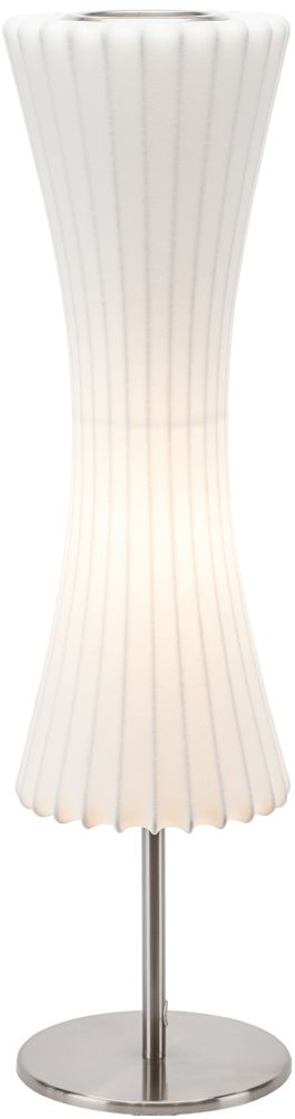 contour table lamp white
