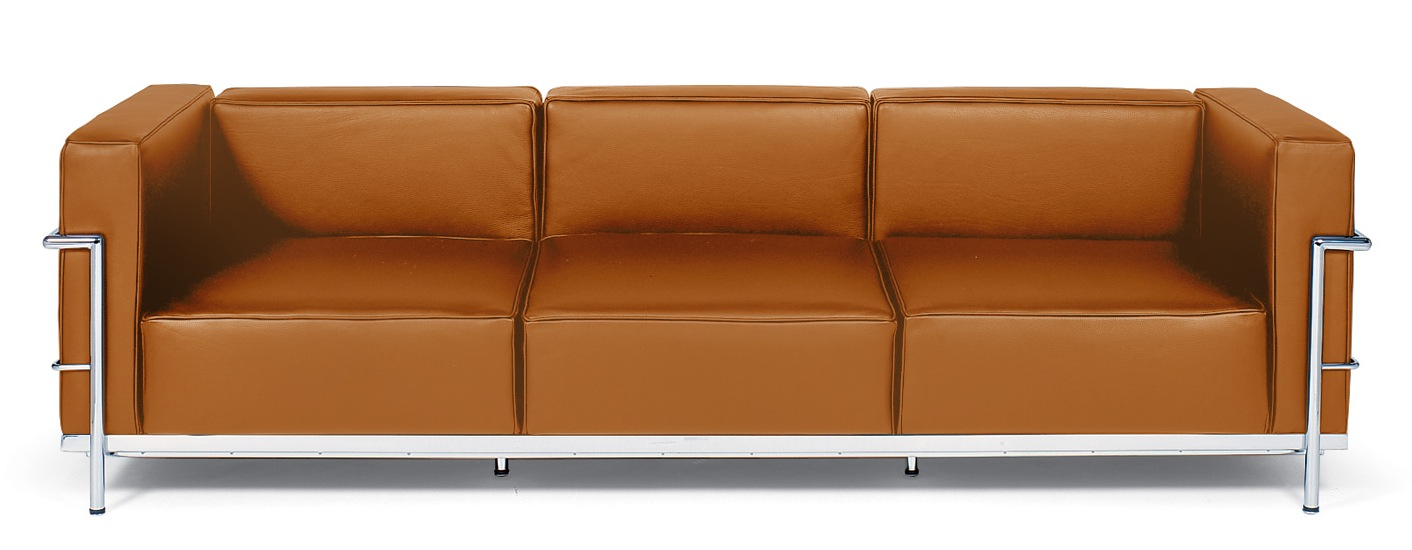 Corbusier sofa lc3 grande le corbusier sofa 82 home and for Le corbusier sofa