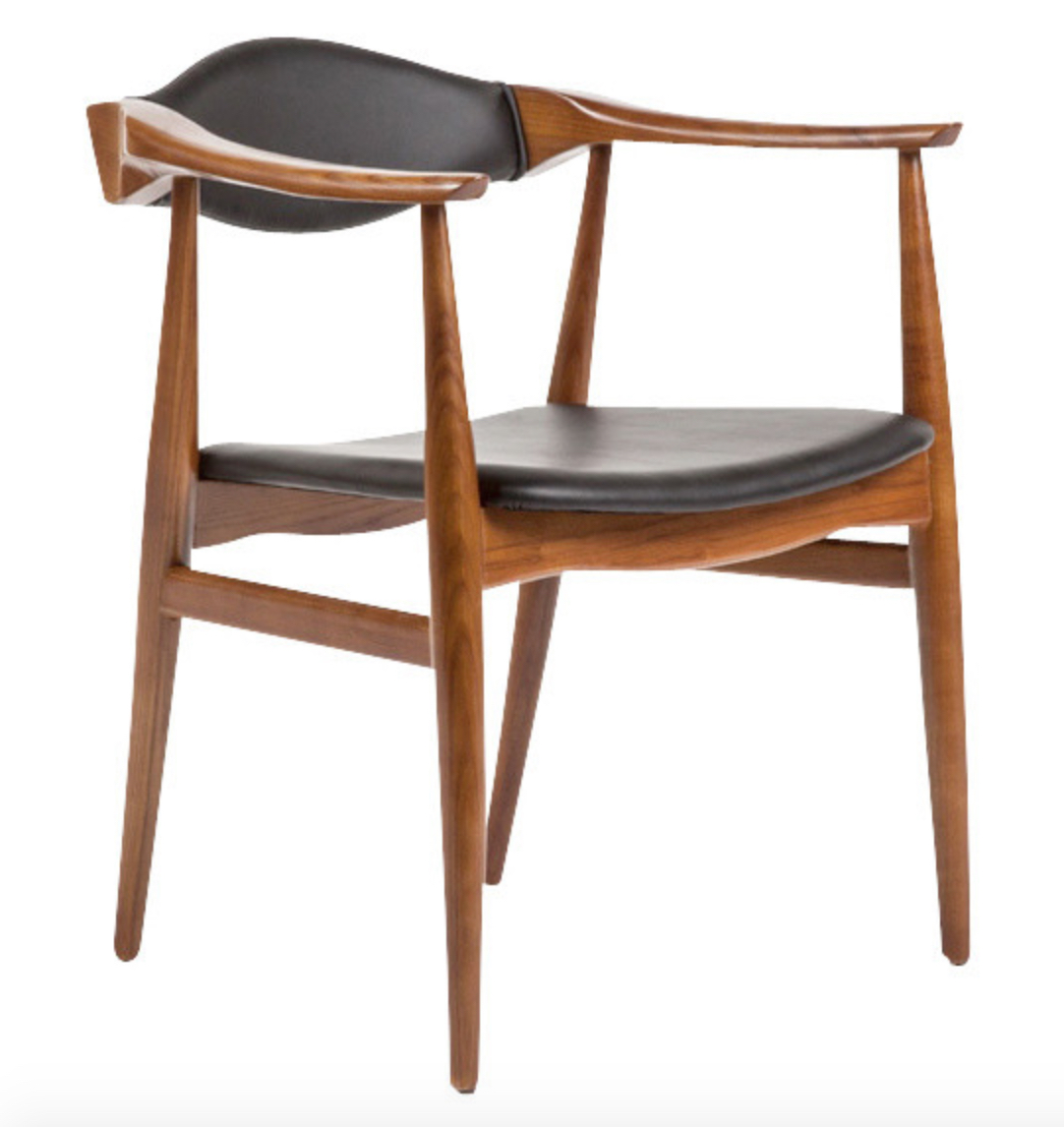 Superior ... Danish Chair Walnut ...