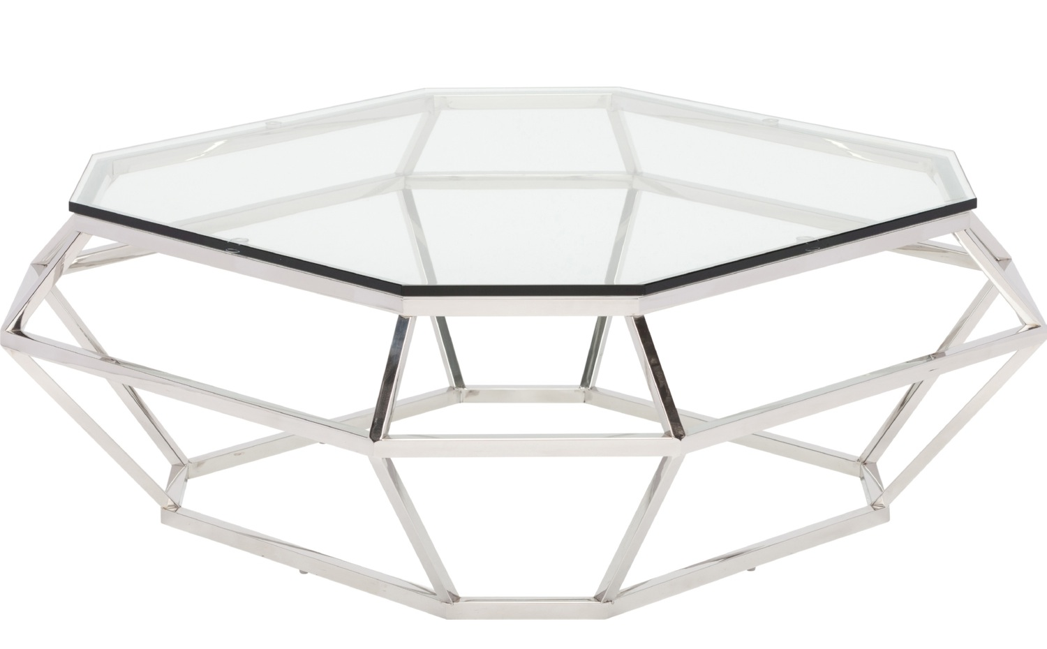 ... Diamond Square Coffee Table Stainless Steel ...