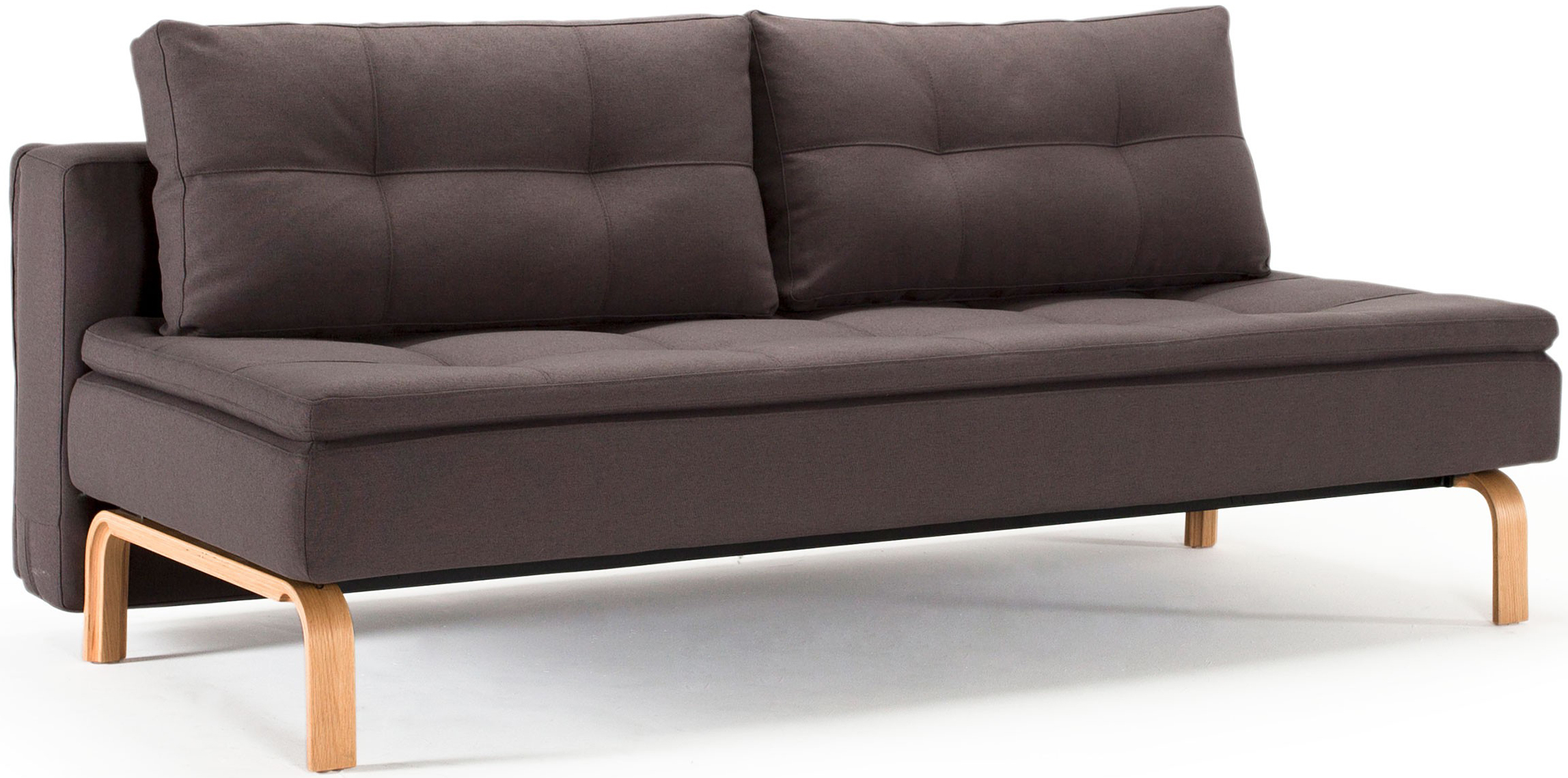 innovation dual sofa oak legs