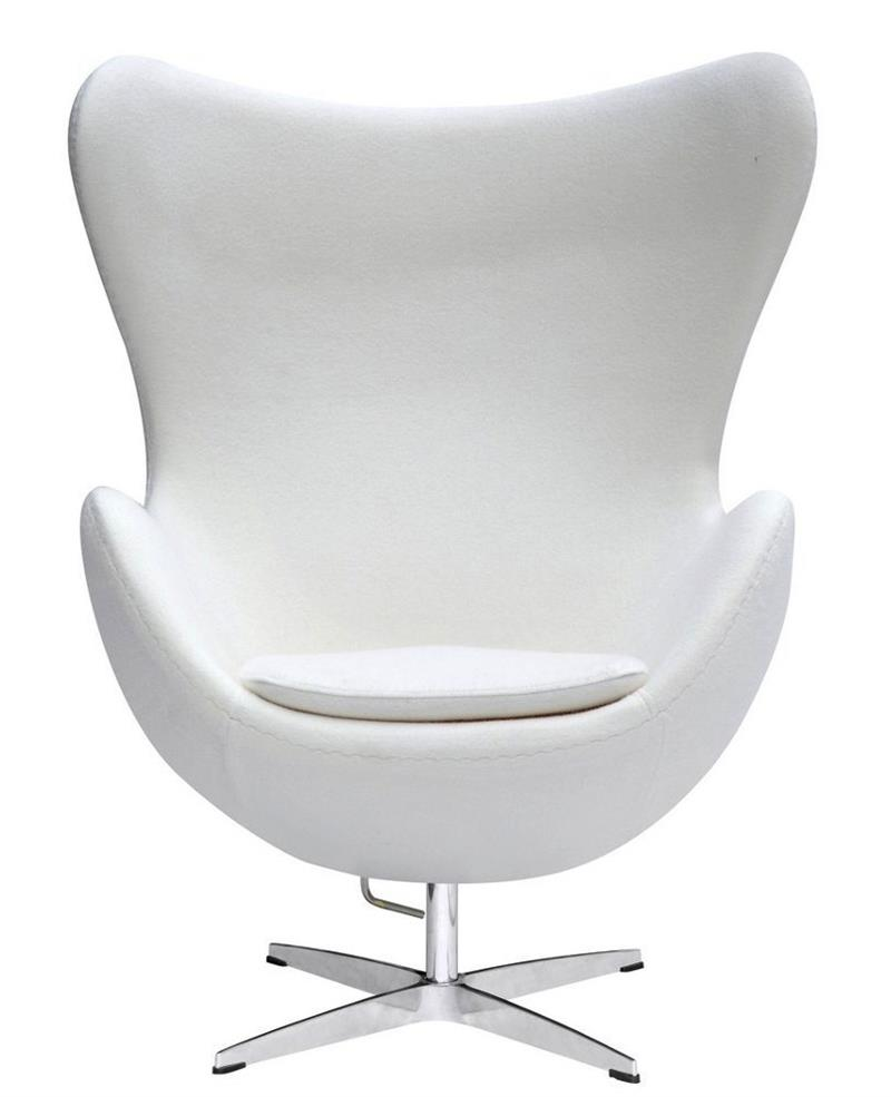 Arne jacobsen egg chair white - Arne Jacobsen Egg Chair White 54