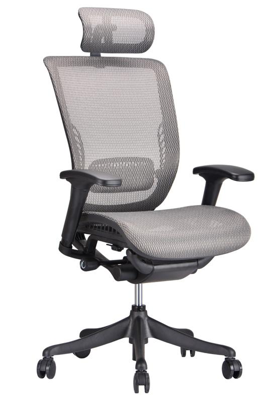 ergo grey mesh ergonomic office chair - ergonomic office chairs