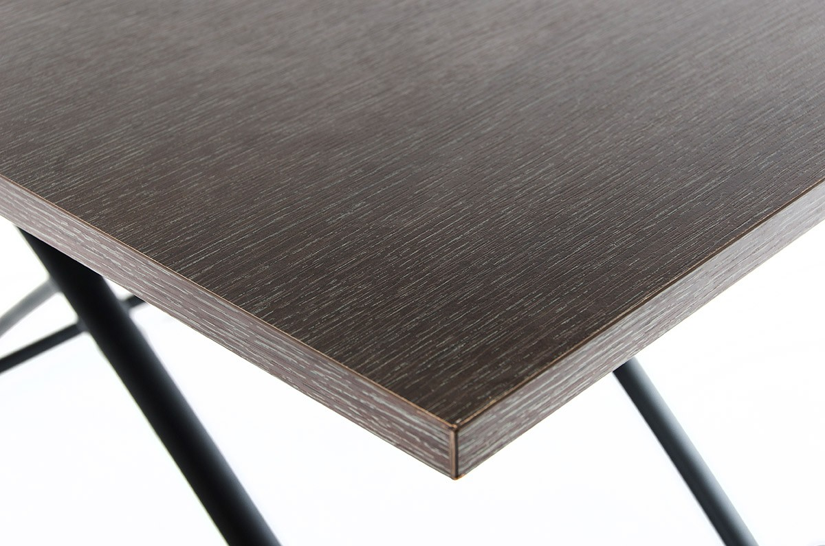 A close up shot of an extendable table design called The Studio Coffee Table.