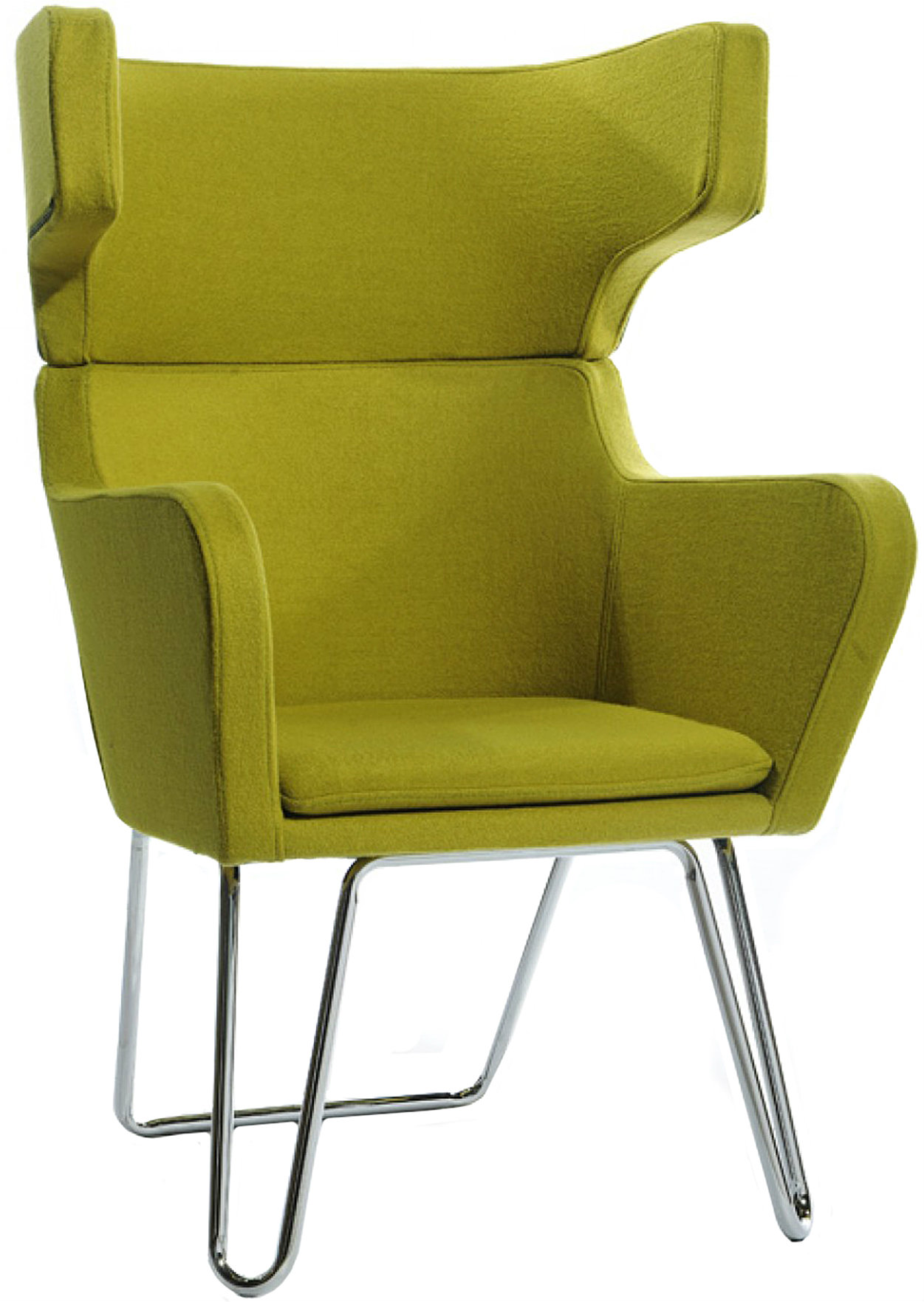 Brand new green living room chair called the Alan available at AdvancedInteriorDesigns.com