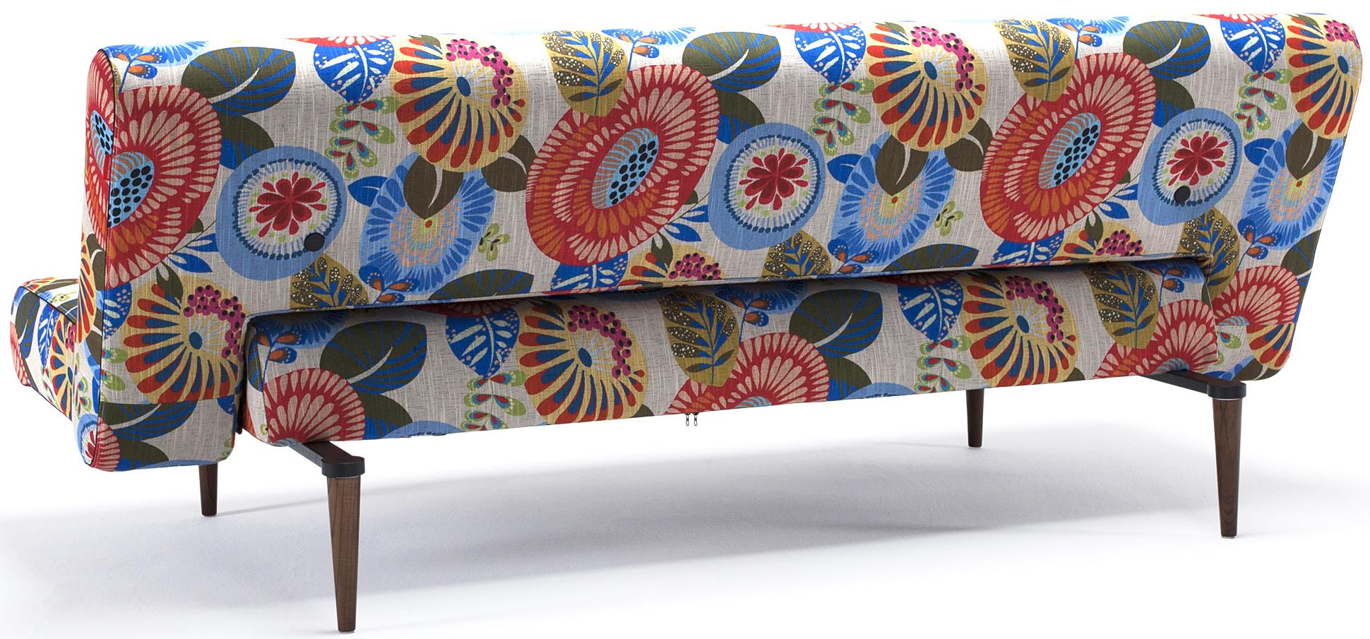 innovation living unfurl sofa flower pattern