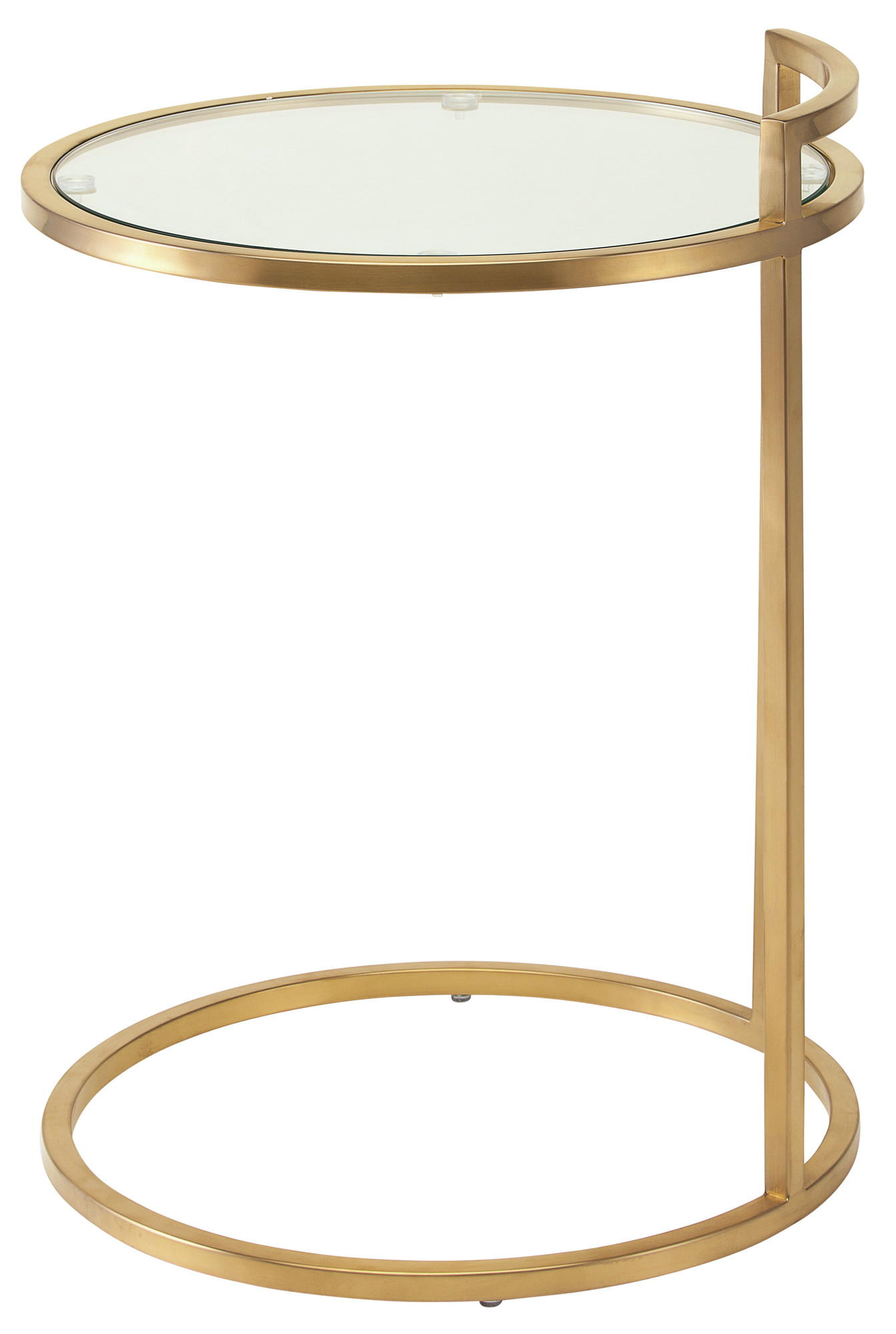 ... Lily Gold Side Table ...