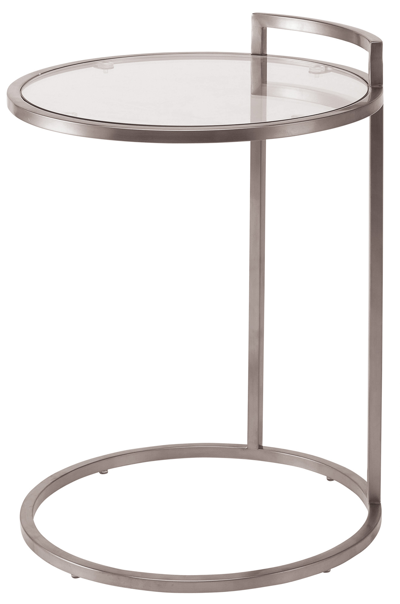 Nuevo Lily Side Table In Stainless Steel Gold & Black