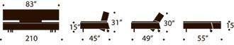 long horn dual measurments