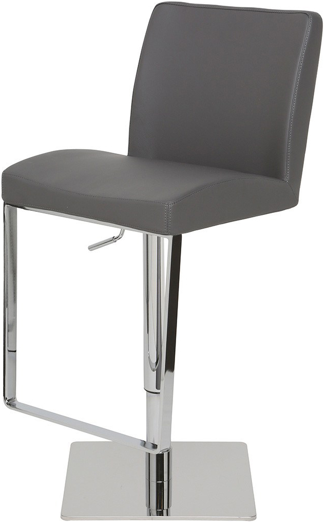the matteo bar stool grey