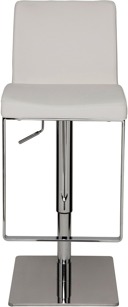 the matteo bar stool in white