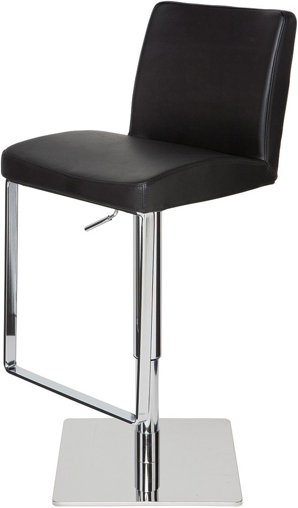 the matteo bar stool in black