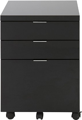 the metro filing cabinet black