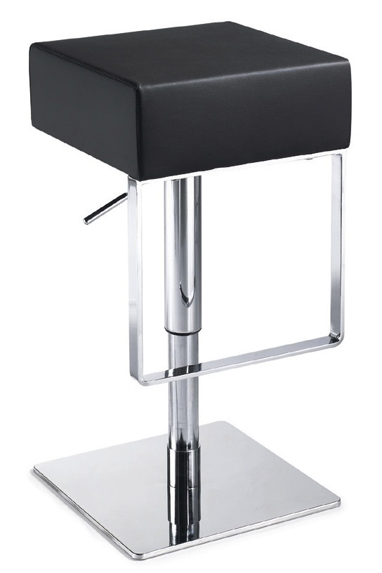 miller-adjustable-stool-black.jpg ...  sc 1 st  Advanced Interior Designs & Miller Adjustable Stool Backless Leather - Modern Bar and Counter ... islam-shia.org
