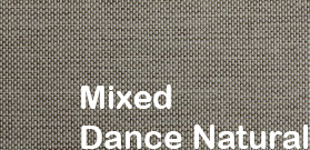 mixed dance natural fabric