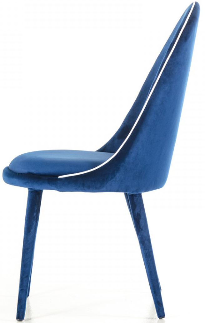 ... Low Priced Modern Blue Dining Chairs ...