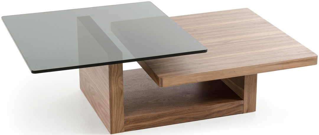 The Calvino Modern Walnut Coffee Table is available at AdvancedInteriorDesigns.com