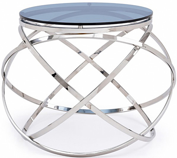 Find a great deal on a modern glass end table at AdvancedInteriorDesigns.com