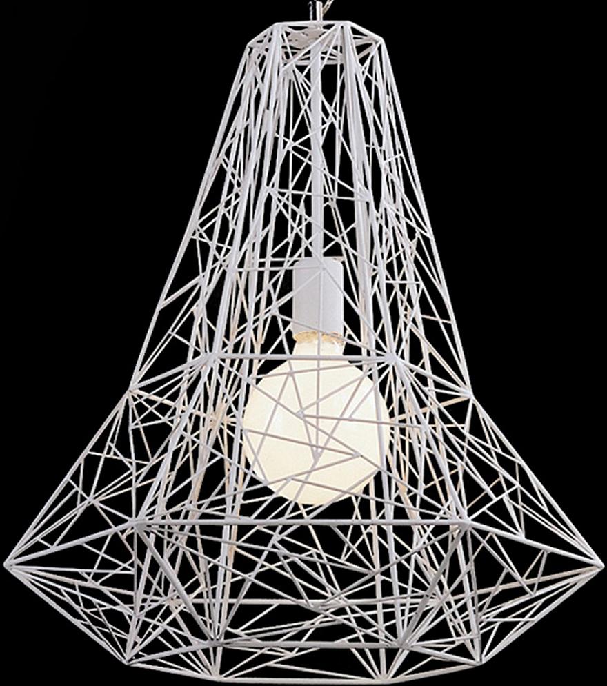 the nuevo apollo pendant lamp in white