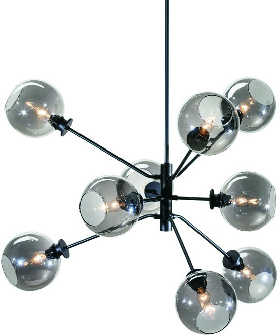 Nuevo Living's New Atom Pendant Lamp In Gret